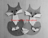 Fox Hanging Nursery Decoration - Reserved for Christine