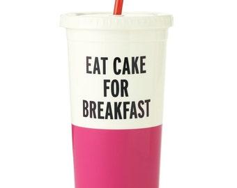 Kate Spade New York Tumbler - Eat Cake For Breakfast