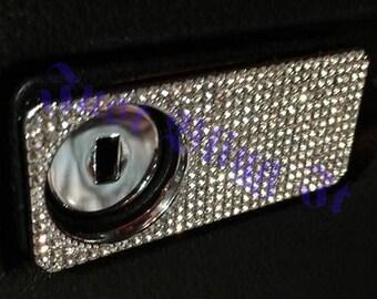 Mercedes Benz Swarovski Crystal bling Glove Box Cover