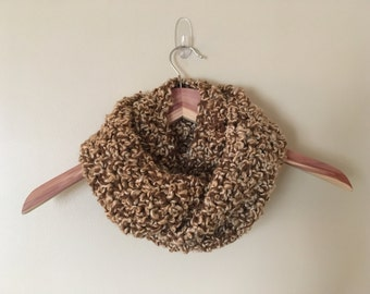 Clearance Item - Hand-knit Infinity Scarf