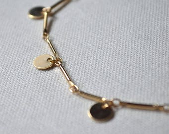 Anklet Gold charms