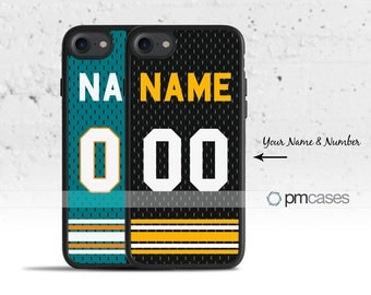 Personalized Football Case Cover for Apple iPod Touch & iPhone 4/4s/5/5s/5c/6/6s/7/Plus/SE