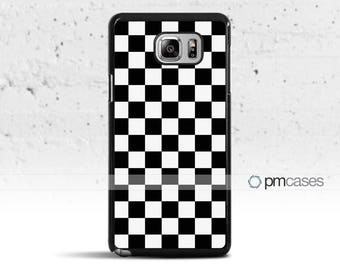 Checkerboard Case Cover for Samsung Galaxy Note 5/4/s8/s7/s6/s5/s4/Mini/Edge/Active/Plus