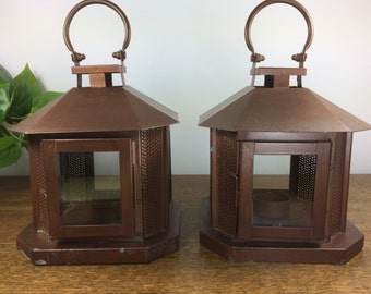 Copper Lanterns *FREE SHIPPING* Copper Tealight Lanterns