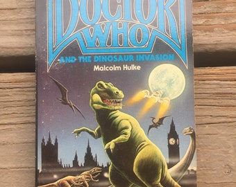 Vintage Doctor Who And The Dinosaur Invasion Malcolm Hulke Book