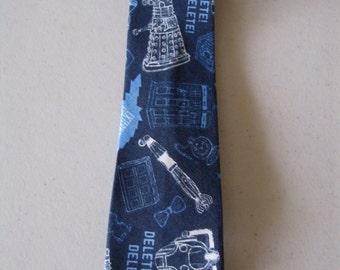 Dr. Who Children's Necktie