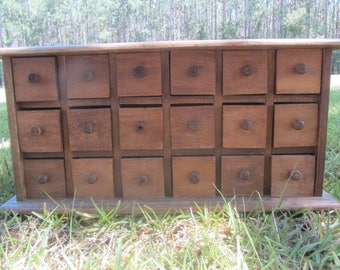 Antique Apothecary cabinet, French Farmhouse cabinet, storage, furniture,drawers, wood cabinet,