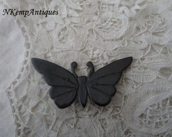 French butterfly brooch