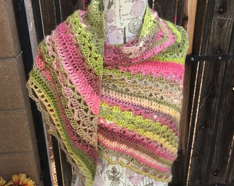 Wrapped in Warmth Shawl, Prayer Shawl
