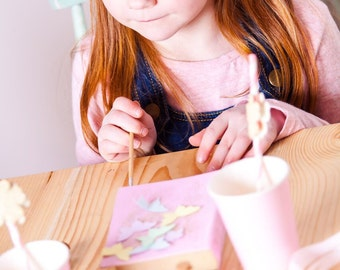 Create Your Own Secret Book Box Party Kit for 10