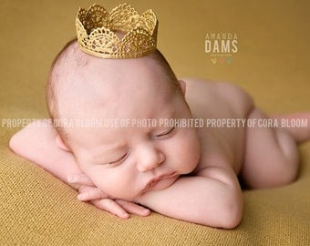 CHOOSE ONE Lace Newborn Crown, Newborn Crown, Photography Prop, Infant Crown, Newborn Princess Crown, Princess Crown, Prop, Newborn Prop