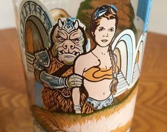 Return of the Jedi Glasses, Burger King 1983