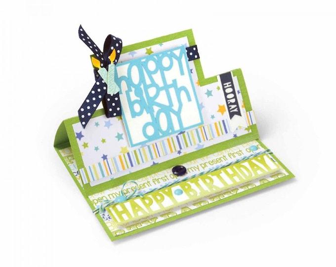 Sizzix Framelits Die Set 28PK - Card, Square Stand-Ups by Stephanie Barnard 661567