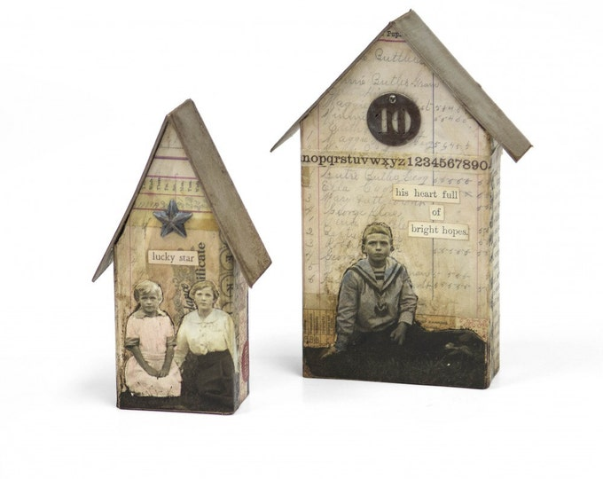 New! Sizzix Tim Holtz Bigz L Die - Tiny Houses