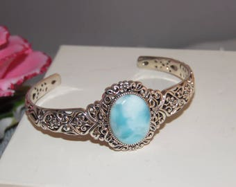 Sterling Larimer Cuff Bracelet 925 NOA Designer