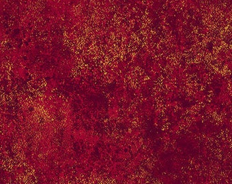 Half Yard Shimmer Metallic Burgandy Fabric Quilting Cotton Northcott