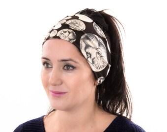 Yoga handband , woman headband  ,ear warmer , extra wide
