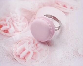 ring macaron polymer clay