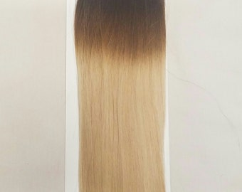 "18"" 100grs,100s,Stick (I) Tip 100% OMBRE Human Hair Extensions #T1B/60 (Top 6"" and bottom 12"")"