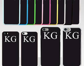 Personalised Name Initials Phone Case For iPhone Series