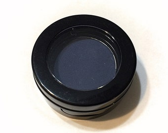 ORGANIC VELVETEEN Matte Blue Pressed Mineral Eyeshadow - Natural Eye Shadow - Plant Makeup - Organic Gluten Free Vegan Mineral Makeup