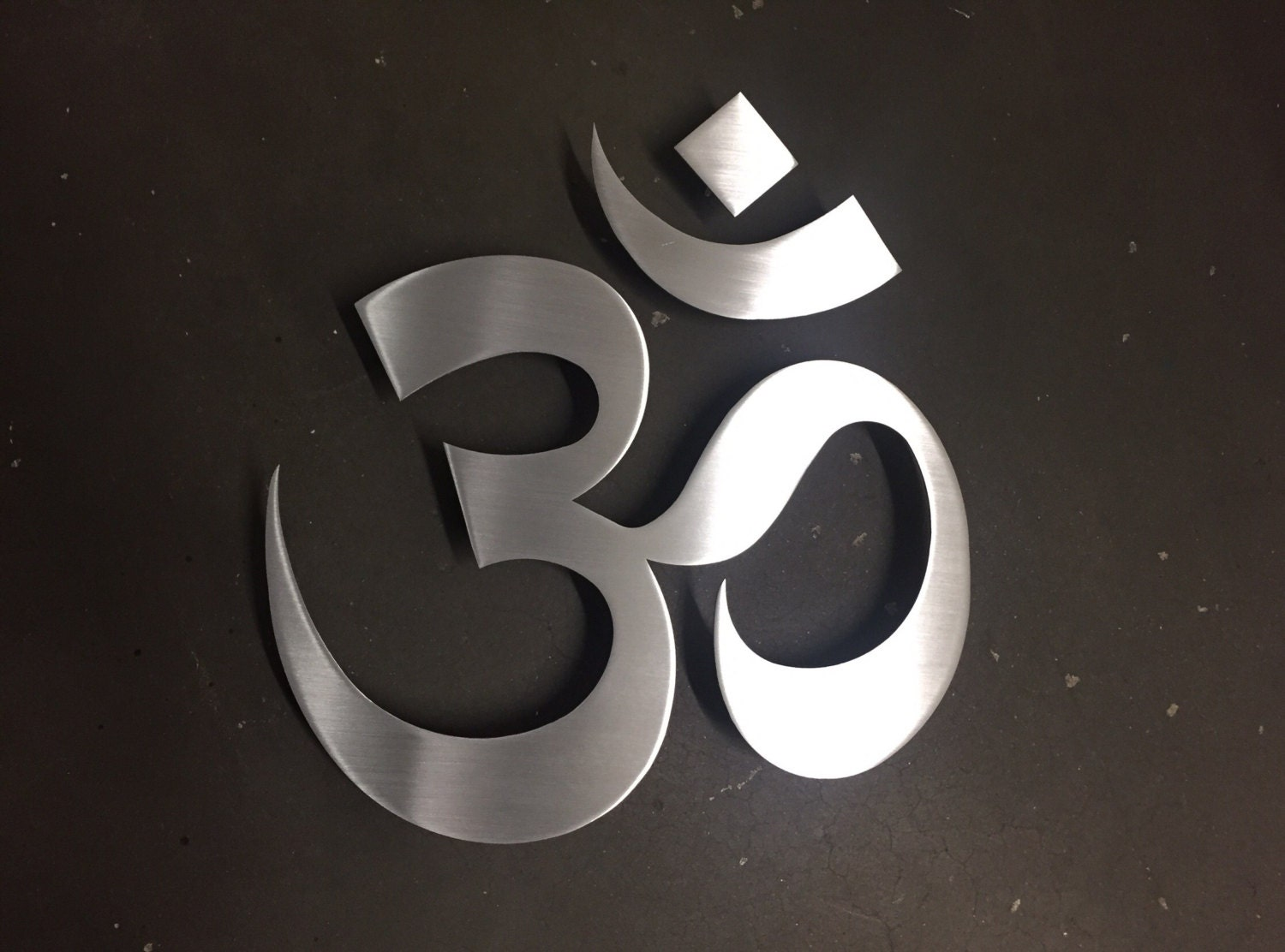 Om Symbol Namaste Metal Wall Art   Wall Art   Metal Wall Decor    Contemporary