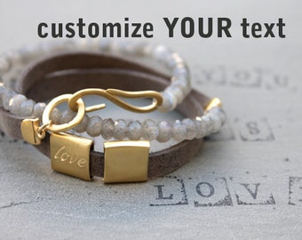 Wife gift, Romantic gifts for her, Love Bracelet, Anniversary gifts for wife, Romantic Jewelry for wife, Engagement Gift for Fiance