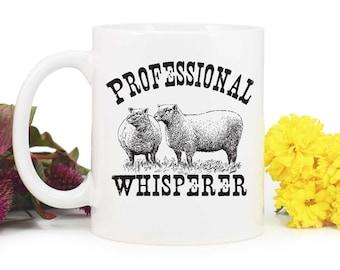 Sheep mug,Sheep Whisperer,Farm Mug,4H Mug,Sheep Farmer,4H Sheep,Sheep,rustic design,Sheep coffee mug,homestead mug,MUG-331