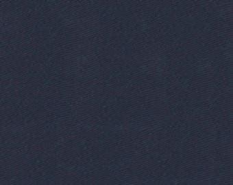"""Midnight Navy Twill Cloth 60"""" Wide By The Yard 7oz"""