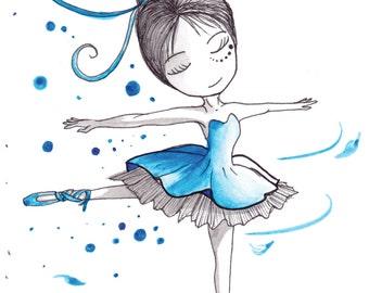 Prima ballerina Card