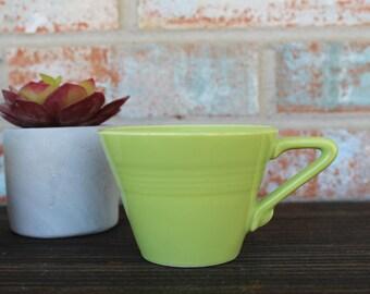 Lime Green Retro Coffee Mug