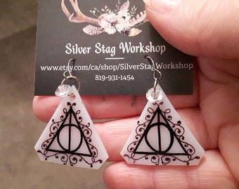 Deathly Hallows earings - Harry Potter