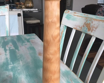 """14"""" Pepper Mill / Grinder - Quilted Maple Wood"""