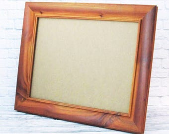 red cedar rustic frame red cedar wood beveled frame 8 x 10 11x14 cedar frame 12x16 12x18 10x20 8x10 rustic frame red brown frame