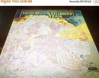 Save 30% Today Vintage 1972 Vinyl LP Record Savoy Brown Hellbound Train Parrot Records Very Good Condition