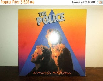 Save 30% Today Vintage 1980 Vinyl LP Record Zenyatta Mondatta The Police Excellent Condition 10247