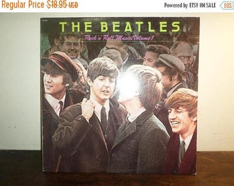 Save 30% Today Vintage 1980 Vinyl LP Record Rock N Roll Music Volume One The Beatles Near Mint Condition 10396