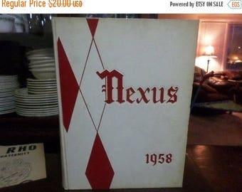 Save 25% Now Vintage 1958 Hofstra University Nexus Yearbook Excellent Condition With Bonus Hempstead NY