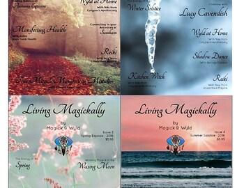 Issue 1,2 3 & 4 - Living Magickally - E-Magazine - 2016
