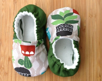 gender neutral baby clothes,cactus baby clothes, vegan shoes, succulent baby clothes, modern baby clothes, hipster baby