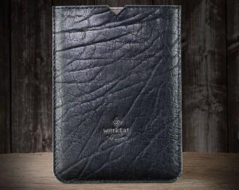 "iPad, iPadPro leather case leather sleeve with felt lining ""Werkstück"" suitable crafted for iPad (start 03/17) iPad Pro 10.5 12.9 9.7"