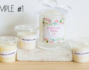 Candle Favour Sample Packs