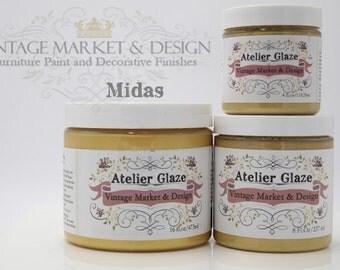 FREE SHIPPING!! Midas (Glaze) - Vintage Market & Design's Furniture Atelier Glaze-All Natural(3 Sizes)