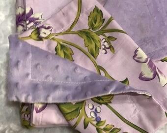 Baby blanket, burp cloth