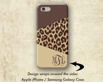 Galaxy S8 Case, Leopard iPhone 7 Case, iPhone 6 Plus Case, iPhone 6S Case, Animal Print iPhone 6 Case, iPhone 7 Plus Case, Galaxy S7 Case