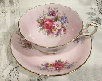 Vintage  Bone China Tea Cup & Saucer  - English