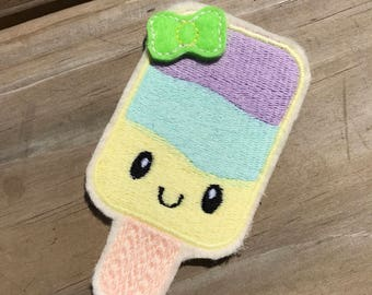 Kawaii Ice Cream Summer Popsicle Feltie