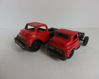 Pair of Vintage Toy Trucks