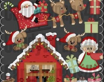 Santa's Place Clipart
