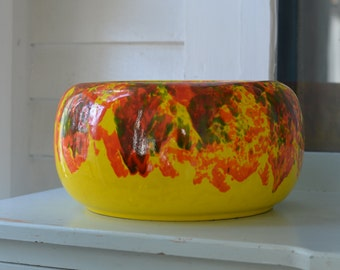 Sunshine CALIFORNIA Pottery Large Planter #4